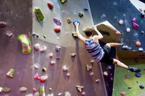 Boulder Brighton -  Entry Lesson Shoe Hire and Return Day Pass  - Save 57%