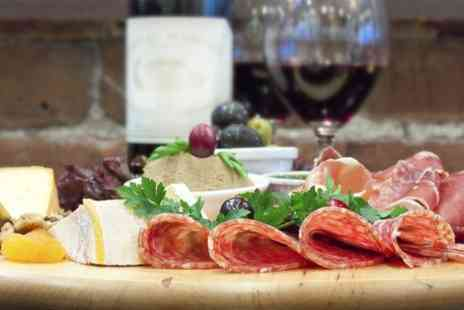 Sofias Italian Restaurant - Wine Tasting and Antispasti Platter For Two  - Save 46%