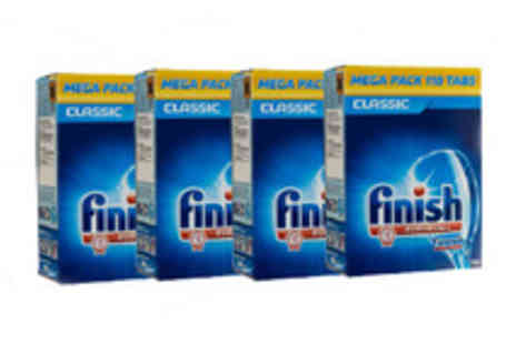 Silver Fishes - 440 Finish dishwasher tablets  - Save 69%