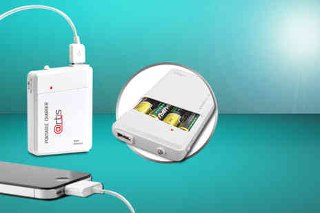 Safield Distributions - Pportable AA USB travel charger - Save 71%