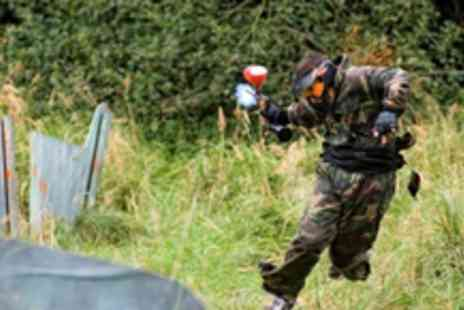 Paintball UK - Full day of paintballing, with 100 paintballs included - Save 82%