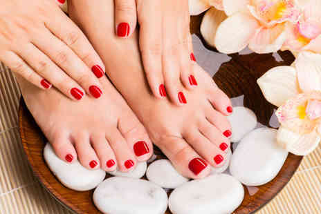 Peint - Manicure and pedicure  - Save 69%