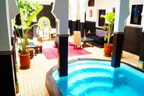 Riad Palais Azukar - One Night stay  For Two With Breakfast - Save 51%