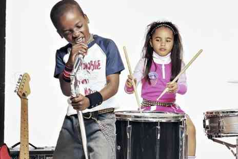 Glasgow Music Studios - Childrens Summer Holiday Music Class - Save 62%