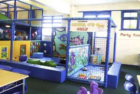 Oceans of Fun - Childrens Soft Play Party for 10 Kids With Buffet, Cake and Drinks  - Save 47%