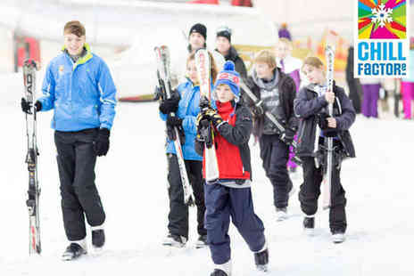 Chill Factore - Hour Long Ski or Snowboard Lift Pass - Save 45%