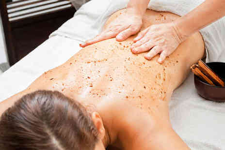 Residential Beauty - Full Body Exfoliation Raspberry Ketone Slimming Wrap and Mini Facial for One  - Save 76%