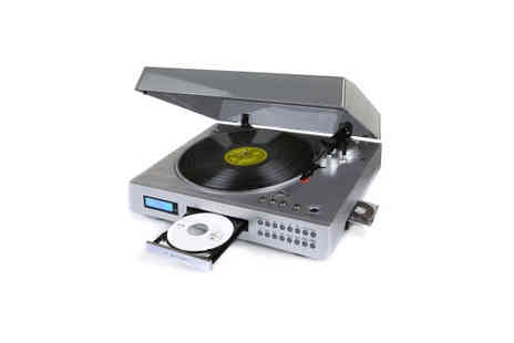 UK Surplus Central - Neostar Vinyl 2CD USB Turntable Player and USB Record - Save 50%