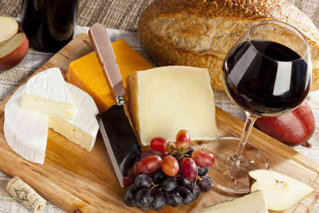 Scotch Hop - Cheese or meat board and a bottle of wine to share between two - Save 55%