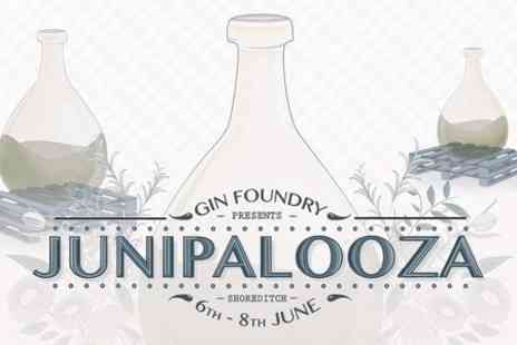 Gin Foundry - Junipalooza Tickets For Two - Save 50%