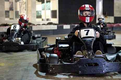 Ace Karting Plus - 60  Laps of Indoor Racing - Save 51%
