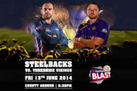 Northants Cricket - Tickets to the Northants v Yorkshire NatWest T20 Blast Cricket Match - Save 38%