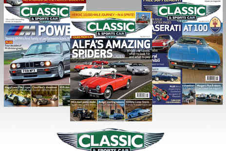 Haymarket Media Group - 12 Issue Subscription to Classic & Sports Car Magazine - Save 35%