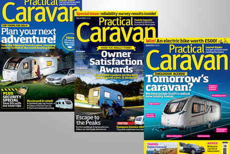 Haymarket Media Group - 13 Issue Subscription to Practical Caravan Magazine - Save 44%