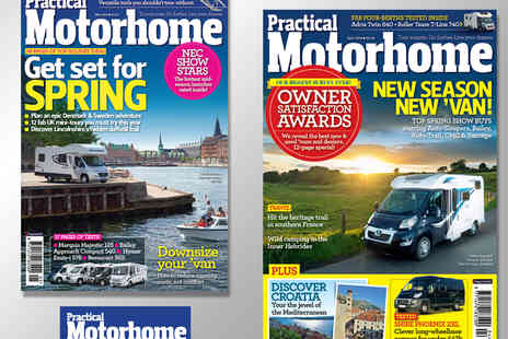 Haymarket Media Group - 13 Issue Subscription to Practical Motorhome Magazine - Save 42%