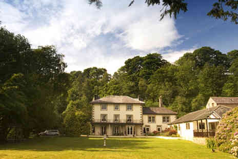Country House Hotel - Two night Stay in Cumbrian for two, including wine and breakfast - Save 59%