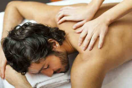 Navana Spa - Gentlemens Hot Towel Facial and Massage Package - Save 55%