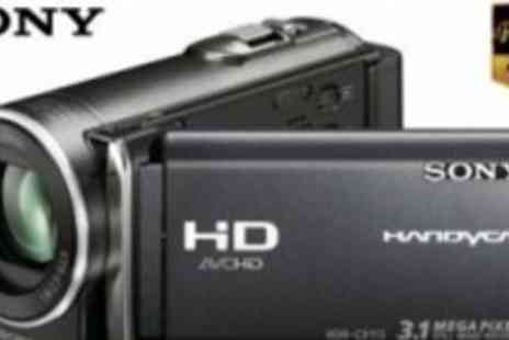 Sony - Razor Sharp Quality Wide Screen Full HD Sony Camcorder - Save 49%