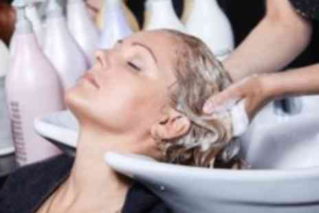 Studio At 55 - Wash haircut & blow with treatment - Save 50%