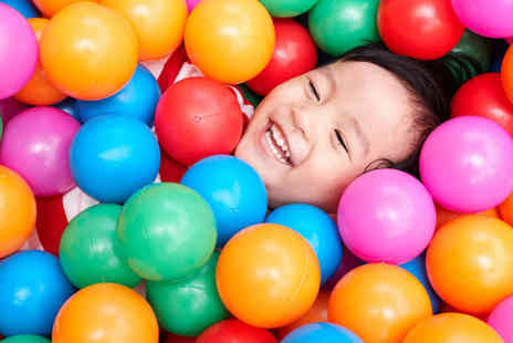 Kidz World Soft Play - Entry to Kidz World Play Area for Two Children  - Save 56%