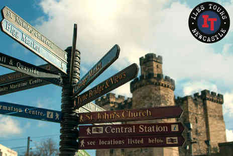 Iles Tours - 90 Minute Historical or Cultural Walking Tour of Newcastle for Two People - Save 50%