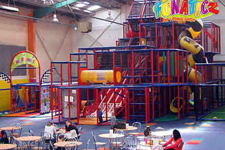 Funaticz - Three Passes for Play Centre - Save 53%