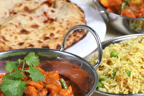 Balti King - A delicious four course meal for two people  - Save 60%