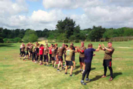 Military Fitness 4 U - Five Military Style Bootcamp Fitness Sessions for One Person - Save 90%