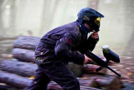 Nationwide Paintball - Full Day Paintballing Gift Card - Save 93%