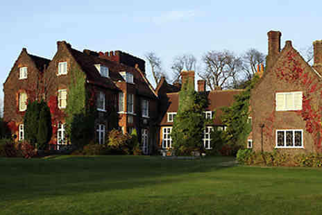 Letchworth Hall Hotel - Overnight stay  in Hertfordshire including breakfast  - Save 38%