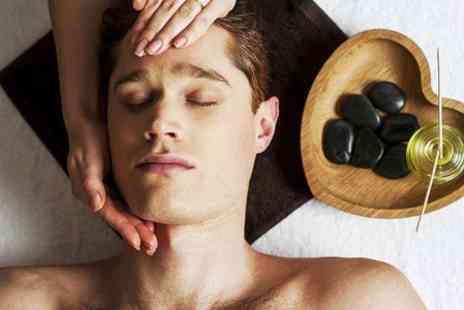 Groom - Hot Stone Massage or Facial or Combination  - Save 66%