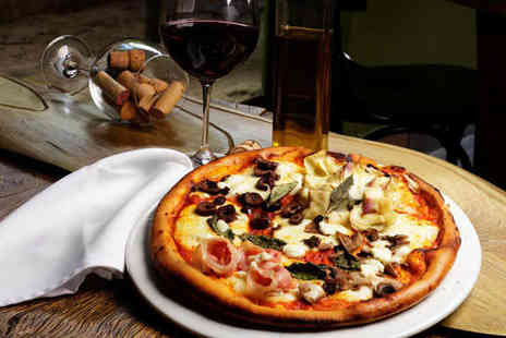 Buongiorno - Pizza or Pasta Dish with Glass of Wine Each for Two  - Save 60%
