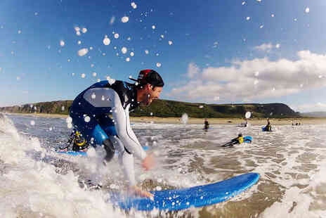 Long Line Surf School - Two Hour Surfing Lesson - Save 67%