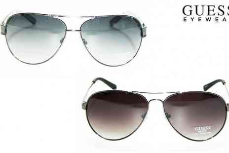 Deal Nation Exclusive - Guess Aviator Sunglasses - Save 75%