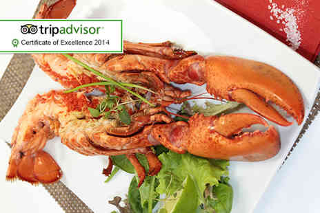The Lavender - Four course seafood tasting menu with lobster for 2 people - Save 51%