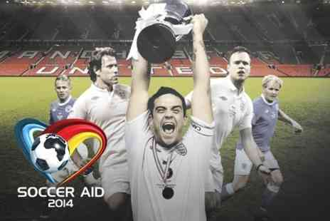 Soccer Aid 2014 - Ticket to Soccer Aid at Old Trafford - Save 50%