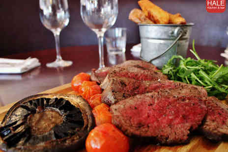 Hale Kitchen & Bar - Chateaubriand Steak for Two with Side - Save 59%