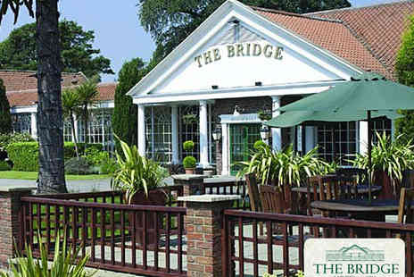The Bridge Hotel & Spa - Twilight Unwind and Dine Experience for Two - Save 50%