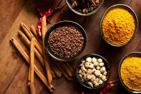 Mela Droxford Spice - Introduction to Indian Spices Cookery Class for One - Save 63%