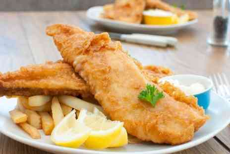 The Sea Catcher - Fish and Chips For One  - Save 56%