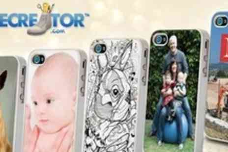 Solecreator.com - Two Personalised iPhone4 Cases - Save 72%