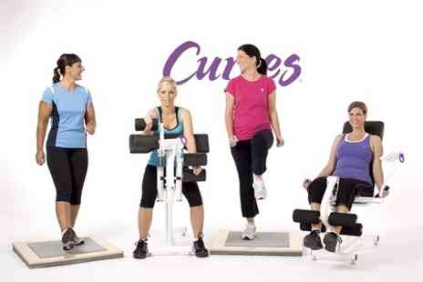 Curves - One Month Ladies Gym Membership  - Save 90%