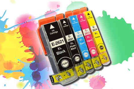 Eurowell - Compatible Colour Ink Cartridge - Save 48%