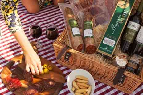 The Haciendas Company - Spanish Hamper with Award Winning Wine & Iberico Ham - Save 51%