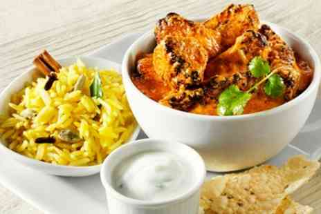 Vine & Spice - Three Course Indian Meal for 2  - Save 52%