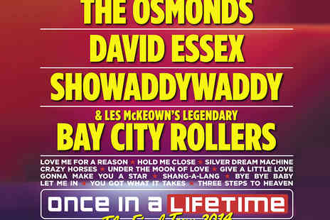 Tony Denton Promotions - Tickets to Once In A Lifetime The Final Tour Featuring David Essex and The Osmonds - Save 18%