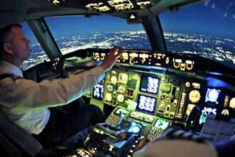 Flight Simulators Midlands - 30 minute Airbus Boeing Flight Simulator Experience - Save 53%