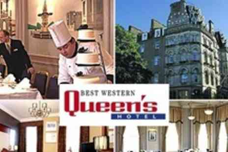 Best Western Queens Hotel - Two Night Stay For Two With Bottle of Prosecco Plus Breakfast - Save 62%