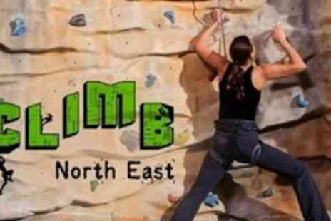 Climb North East - Full Day Beginners Climbing Experience With Induction - Save 61%