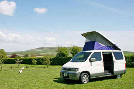 Bongo A Go Go - Three Night Stay in a Campervan for Up to Four People with Food Hamper - Save 50%